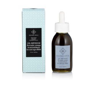 Oil infusion - olie til huden og som kosttilskud - Amazing Space