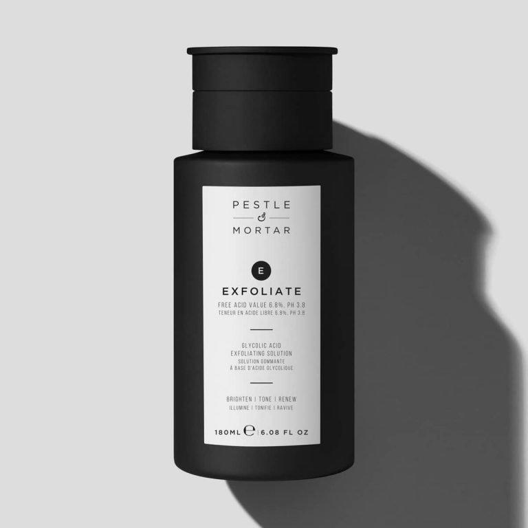 exfoliate toner til ansigtet Hydrate ansigtscreme - pestle mortar produkter