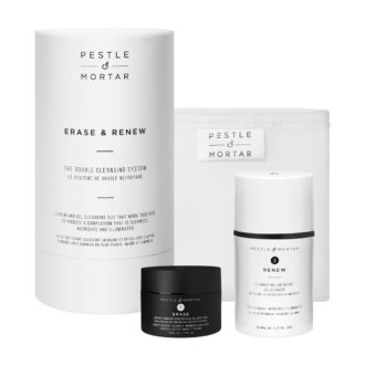 Erase & Renew – The Double Cleansing System – Pestle & Mortar Produkter