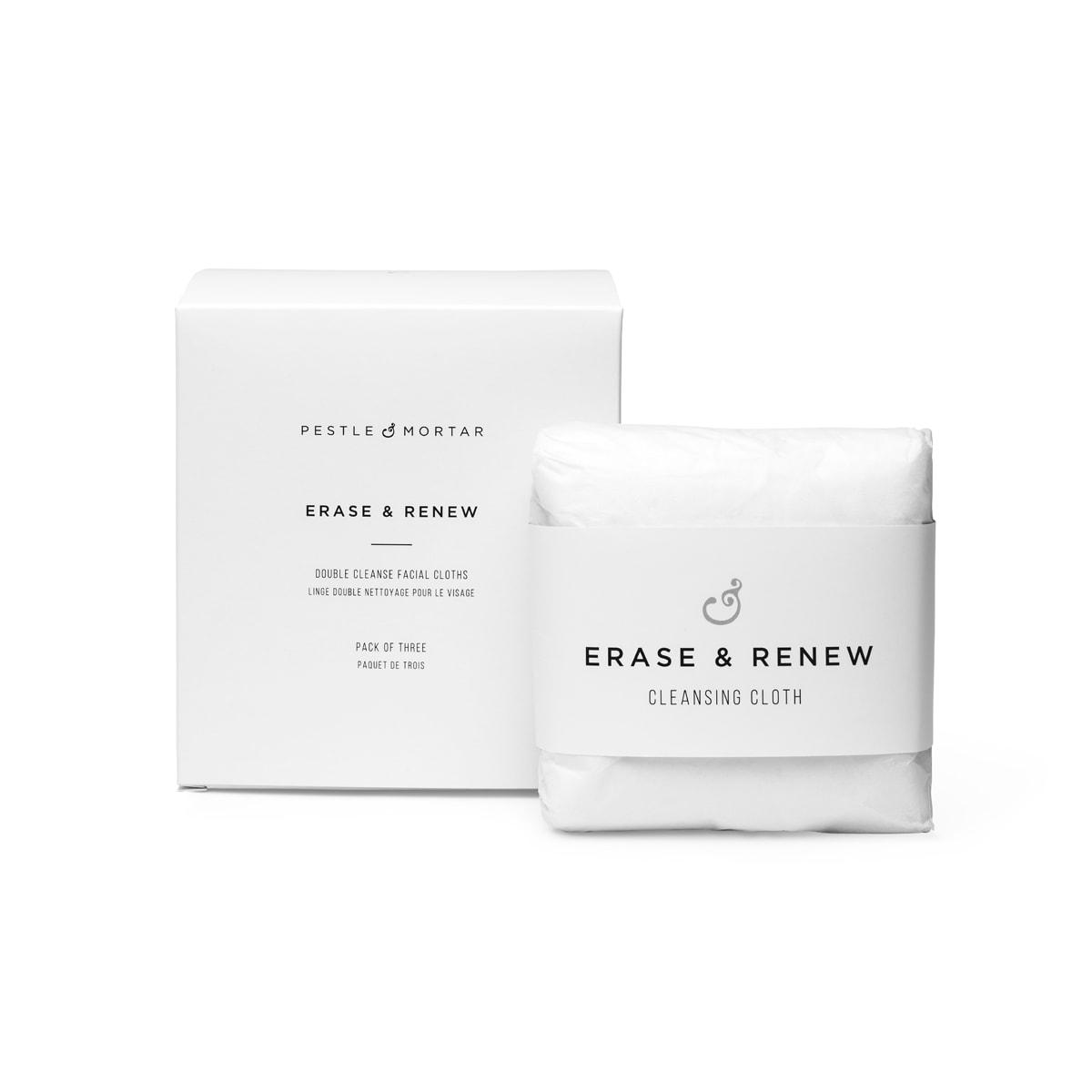 Erase & Renew Cleansing Cloth 3-Pak – Pestle & Mortar Produkter