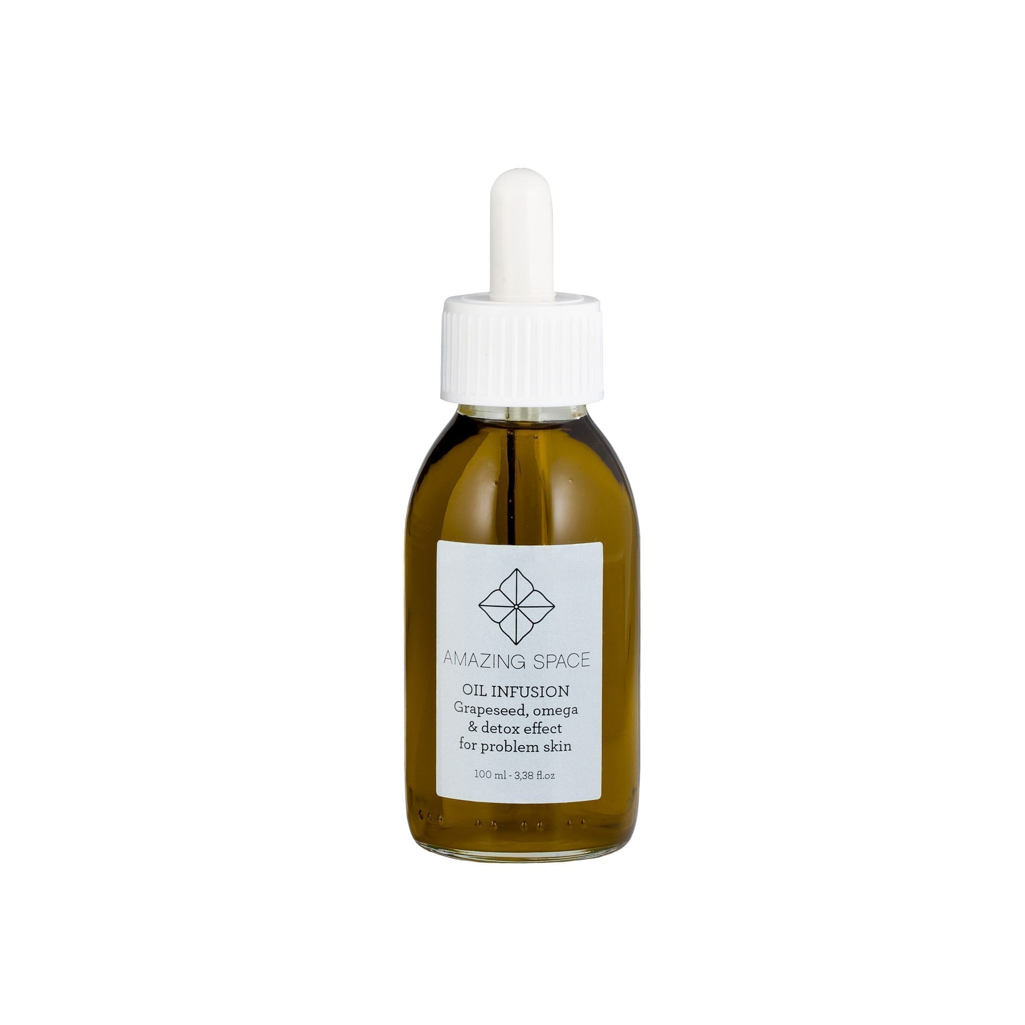 Oil Infusion Grapeseed - Omega & Antioxidants For Oily & Problem Skin - Amazing Space