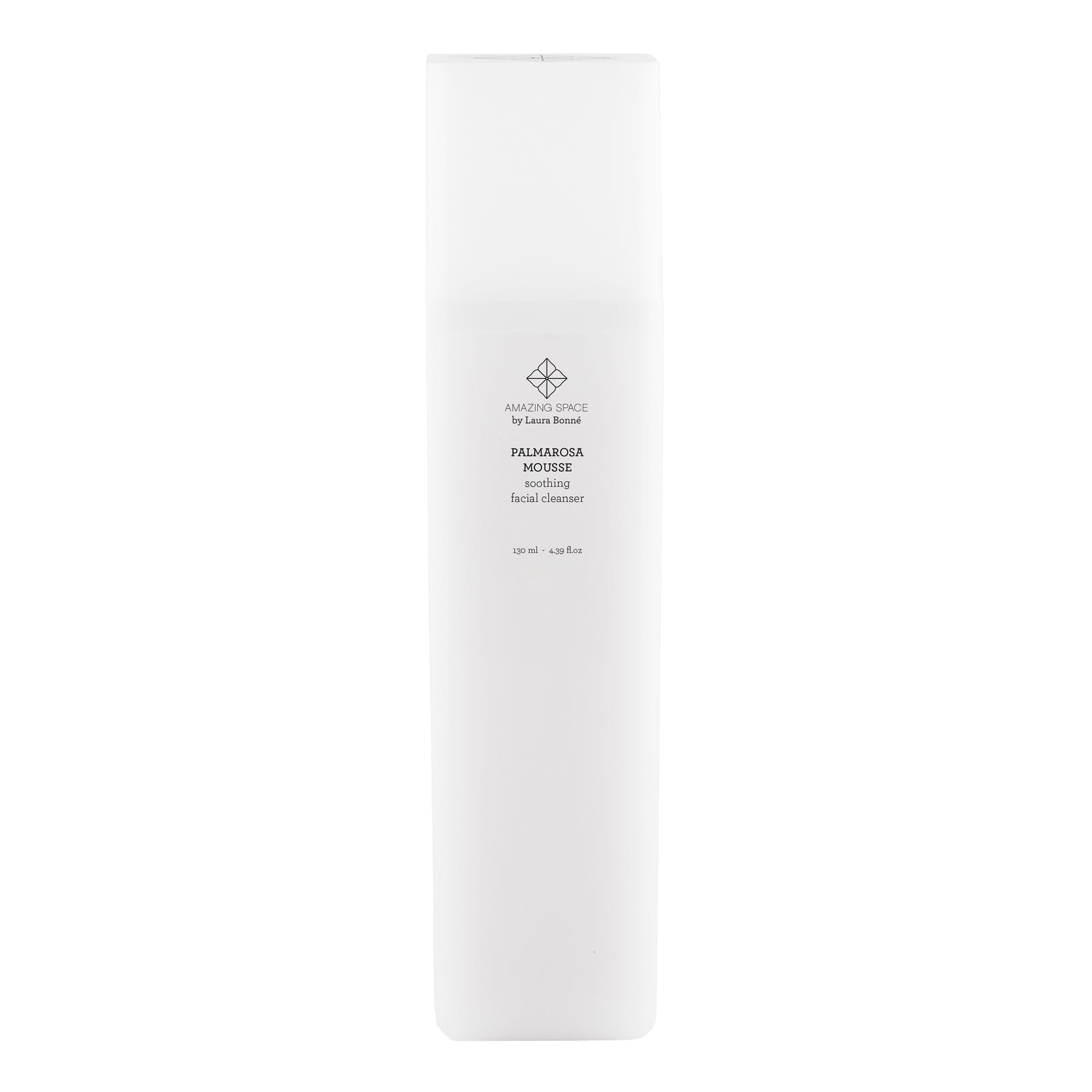 Palmarosa Mousse - Soothing Facial Cleanser - Amazing Space
