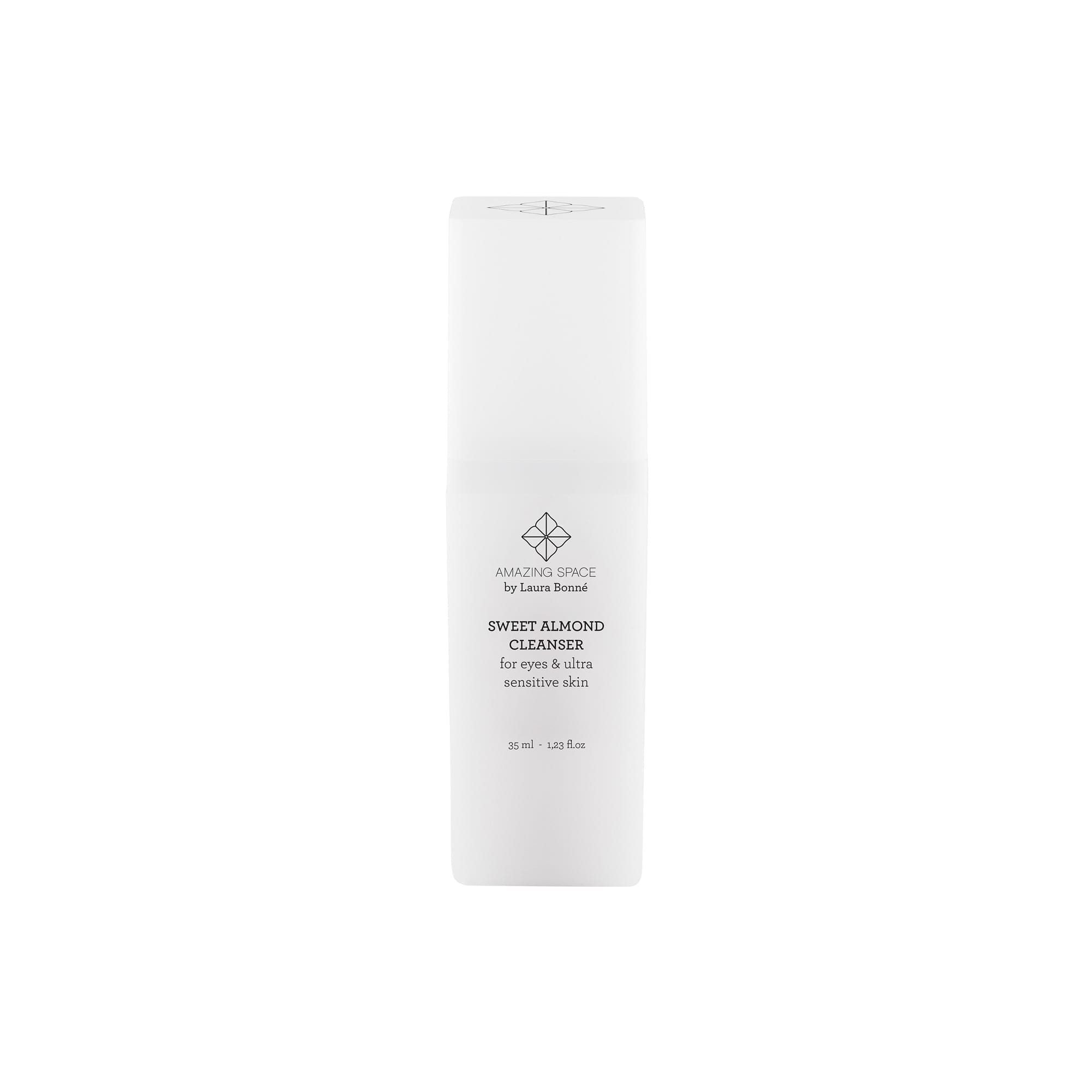 Sweet Almond Cleanser - For Eyes & Ultra Sensitive Skin (35ml) - Amazing Space