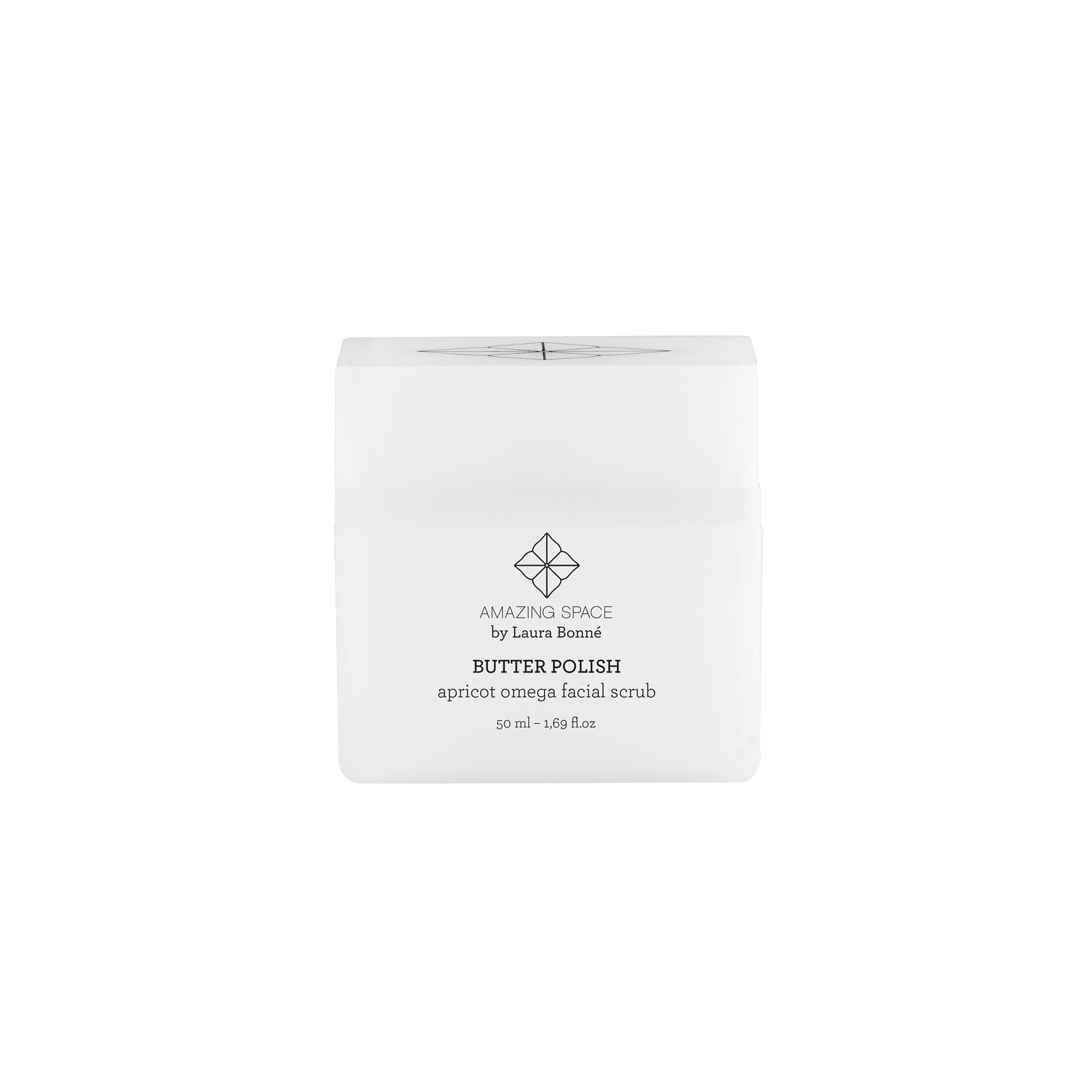 Butter Polish - Apricot Omega Facial Scrub - Amazing Space4