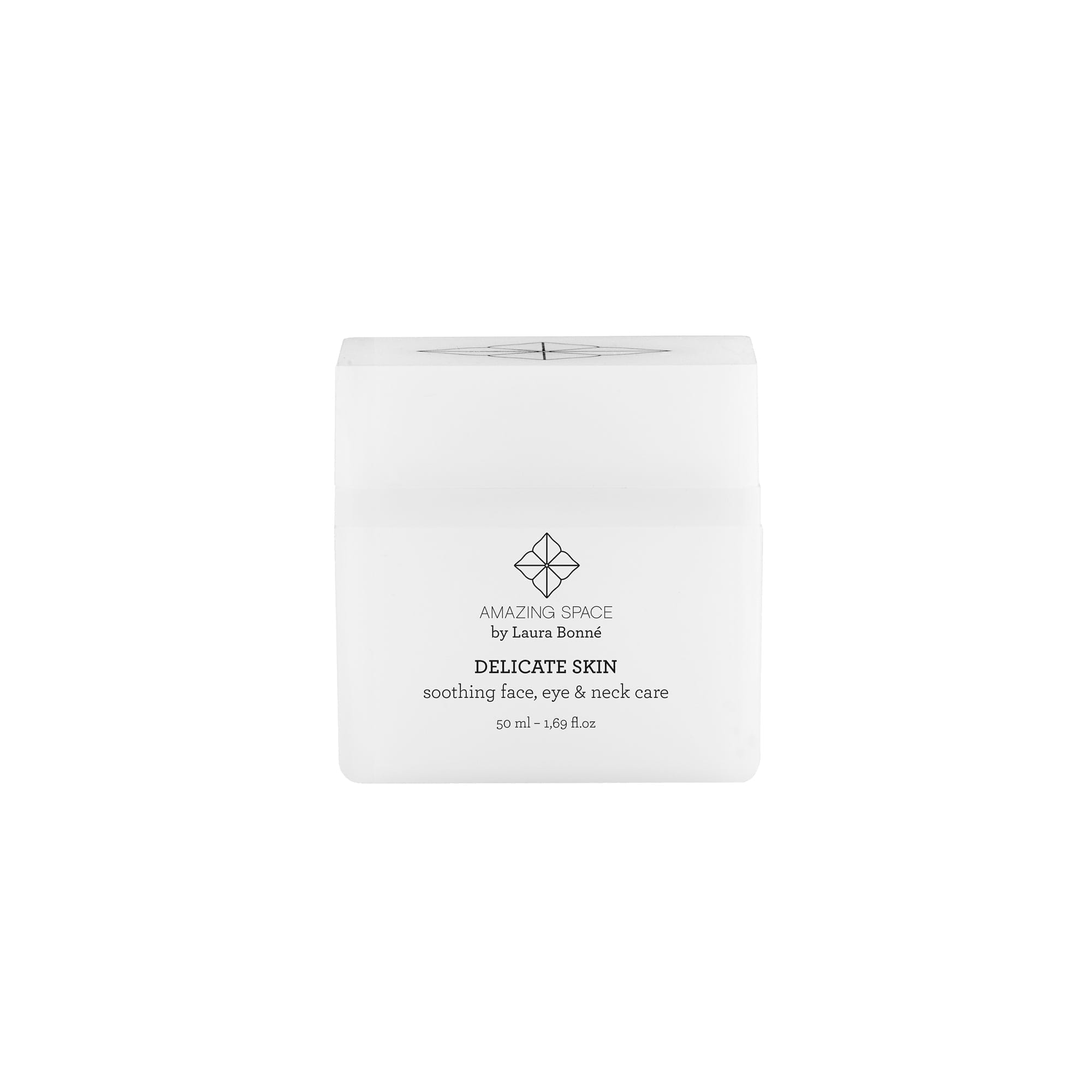 Delicate Skin - Face, Eye & Neck Cream - Amazing Spac